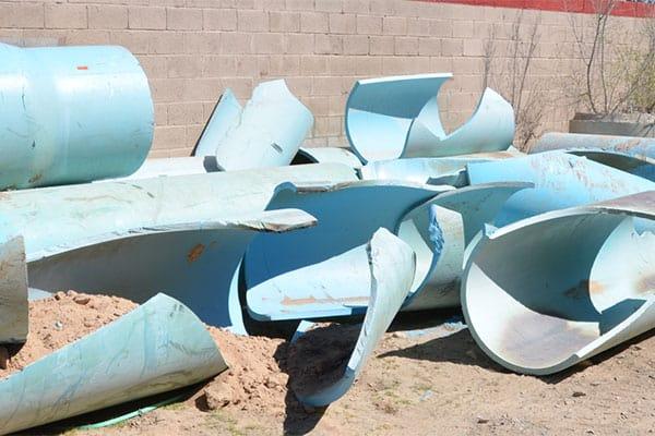PVC pipe failure problem