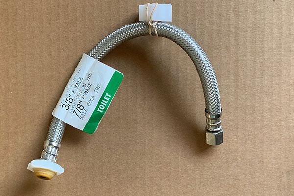 Toilet connector failure problem