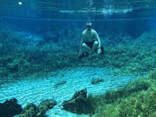 RAINBOW SPRINGS FLORIDA HEADSPRING underwater