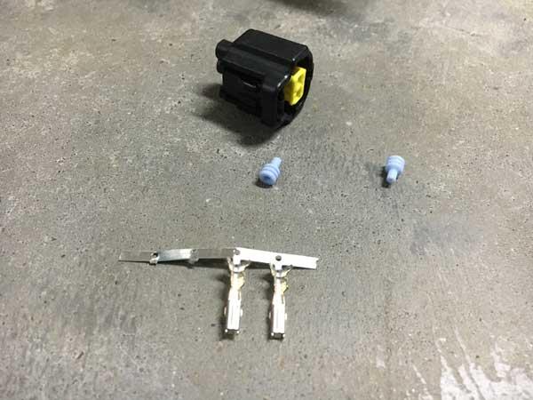 Tesla airco solenoide connector kit