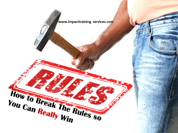 cover image for how to break the rules so you can really win