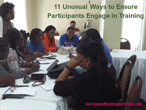 cover image for 11 unusual ways to ensure participants engage in training