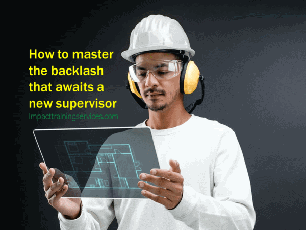 cover image for new supervisor? how to master the backlash that awaits you