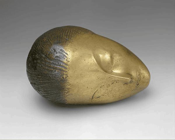 Constantin Brancusi - Sleeping Muse - 1910