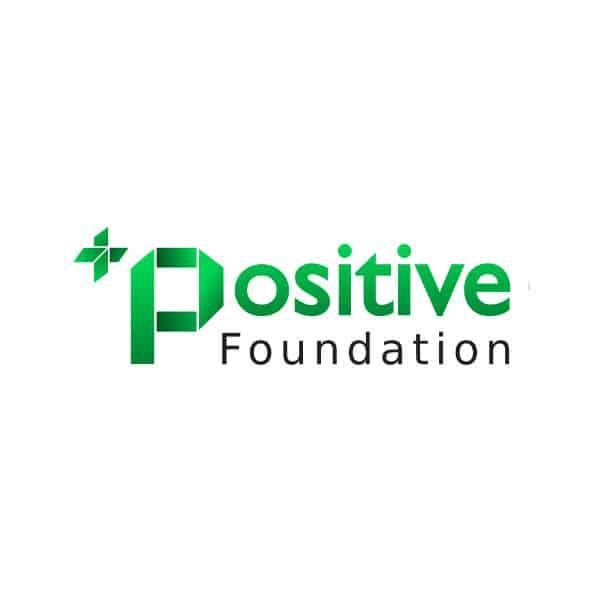 Logotipo Positive Foundation