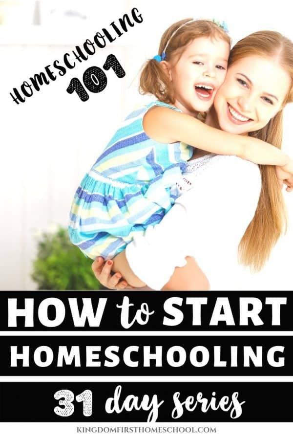 Wanna know how to start homeschooling today? You may be wondering - how do I even do this homeschooling thing? What curriculum do I choose? What are the laws in my state? This 31 day homeschooling series will walk you through how to start homeschooling step by step and also give you tips for common struggles you may run into. Let's get ready to start a brand new homeschool journey and begin your homeschool year revived and energized!#howtostarthomeschooling