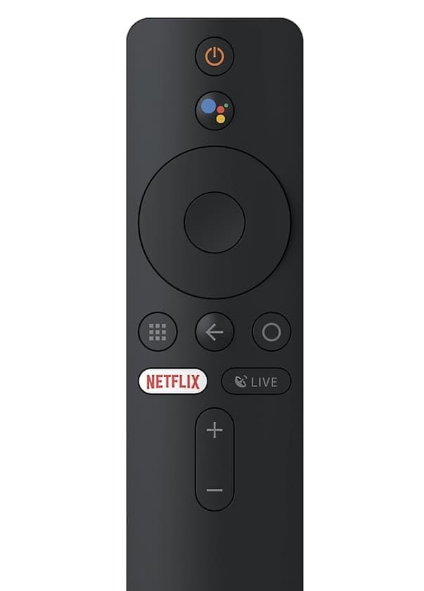 Mando proyector Xiaomi con control por voz y botón app de Netflix