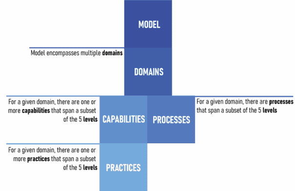 Domains, Capabilities, Practices and Processes