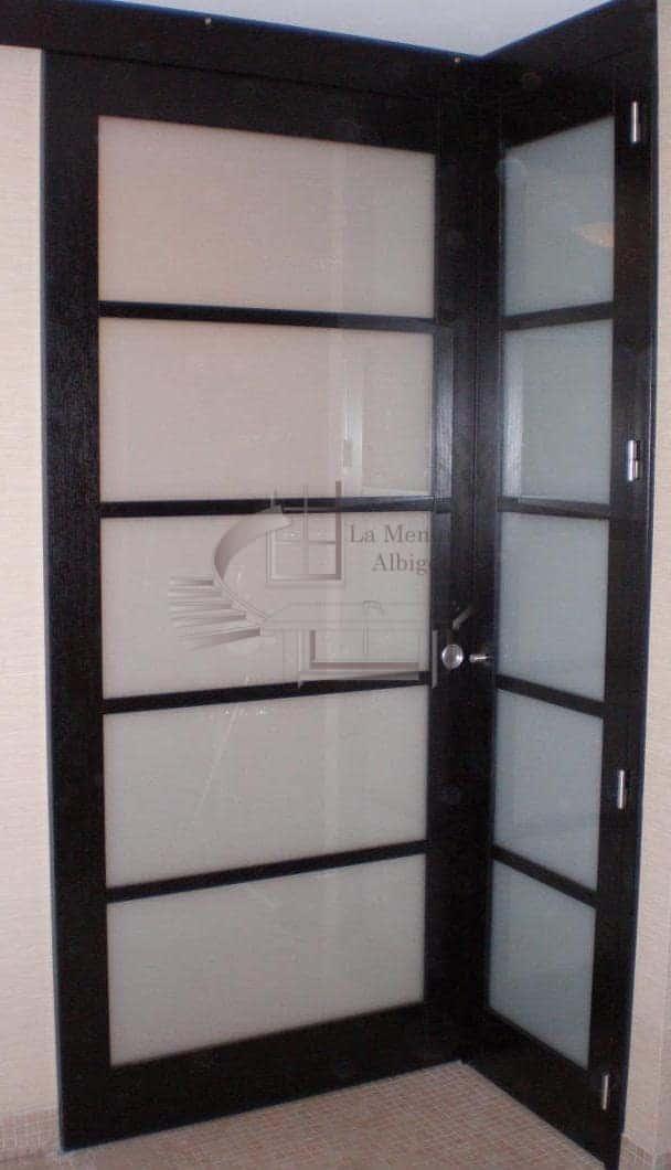 Porte vitrée à Albi