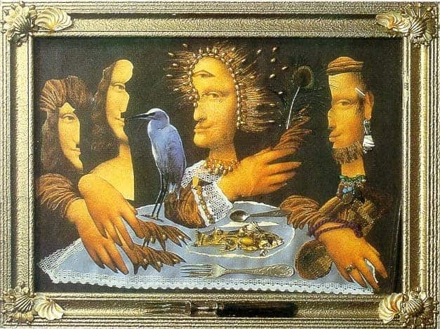 The last supper by Sergei Parajanov