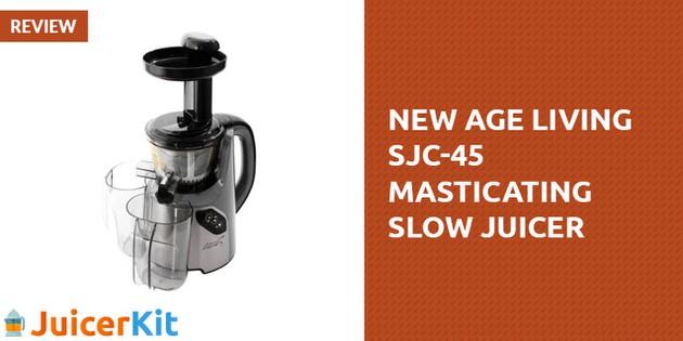 New Age Living SJC-45 Masticating Slow Juicer