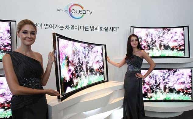 TV Curvo Samsung OLED