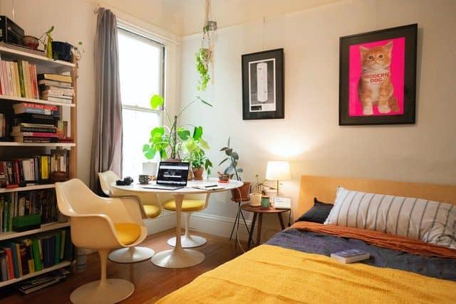 establecer tu oficina en casa