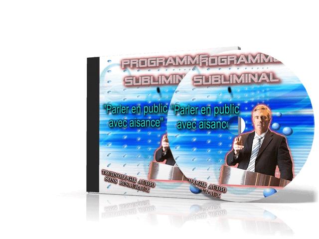 CD subliminal parler en public vaincre le trac vaincr la peur de parler le public
