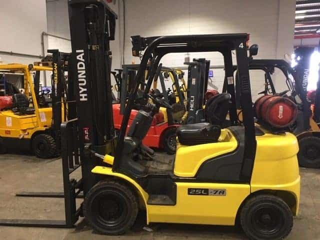 Refurbished Hyundai Forklit from Scot Truck Forklifts