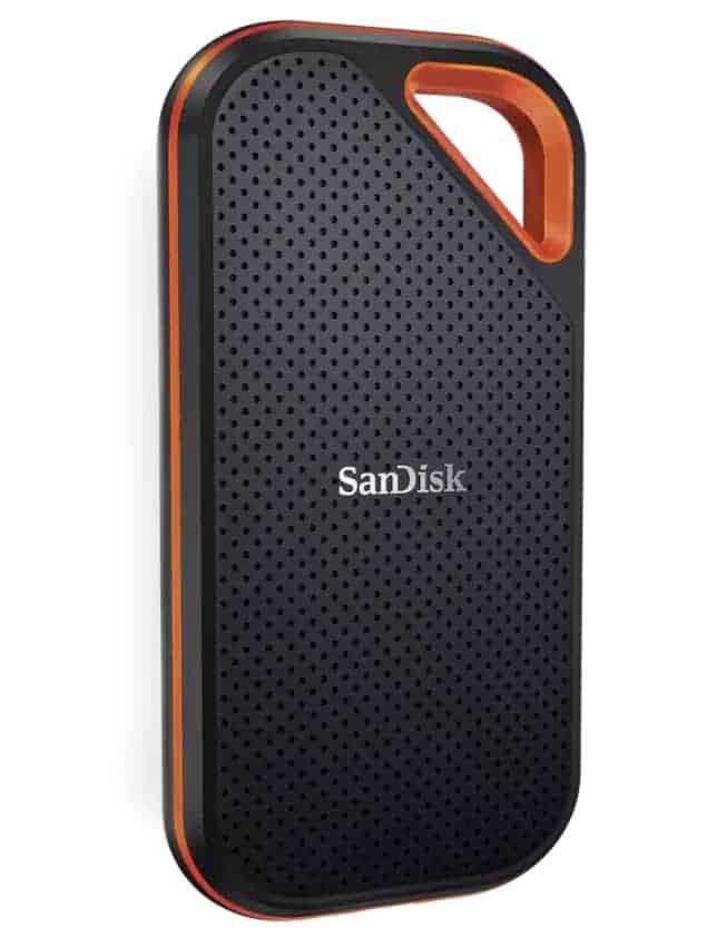 SanDisk Extreme PRO SSD disco duro externo para PS5 - Los mejores discos duros para ps5