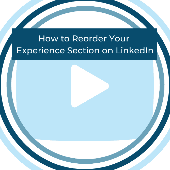 experience section linkedin
