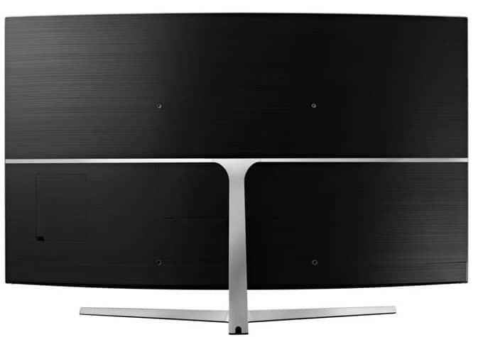 Parte trasera TV Curvo Samsung MU9005