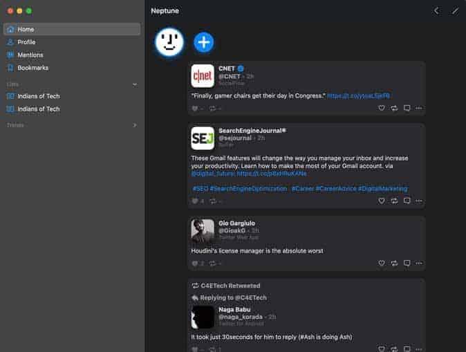 Neptune twitter app for mac