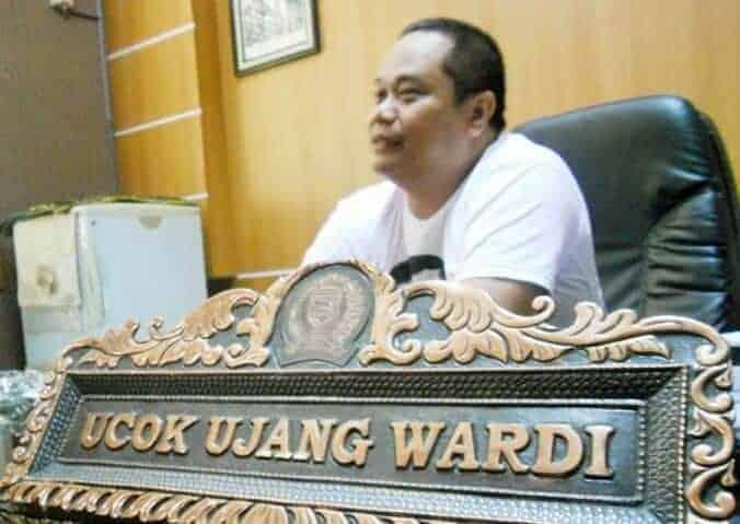 Ucok Ujang Wardi, mantan Ketua DPRD Kab. Purwakarta
