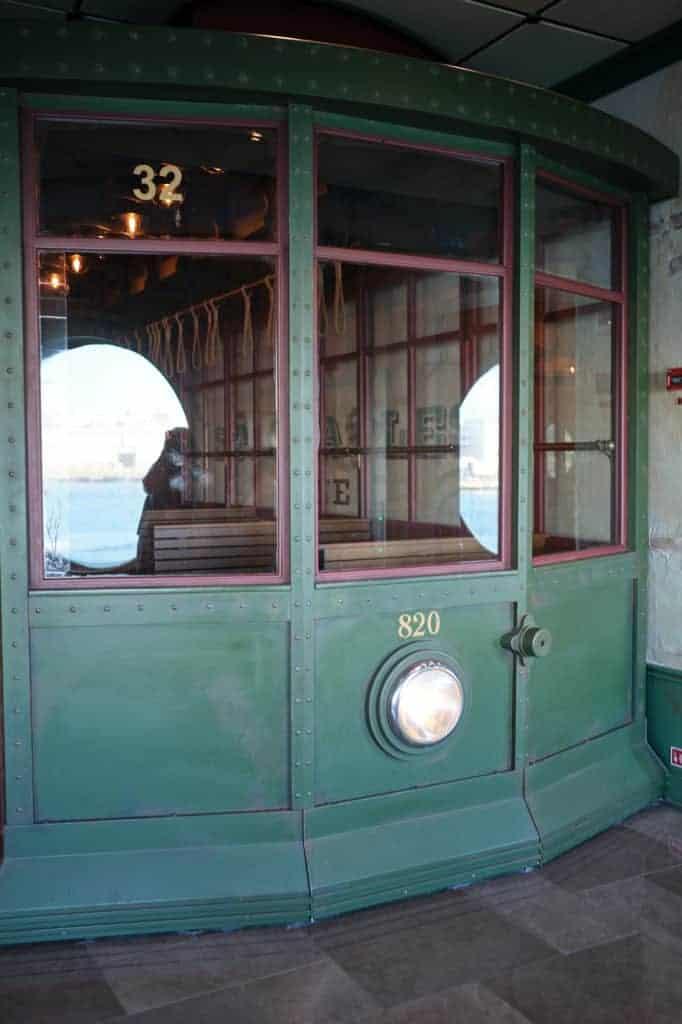 Street Car at French Quarter Disney Wonder Port of San Juan Wonder to New Orleans