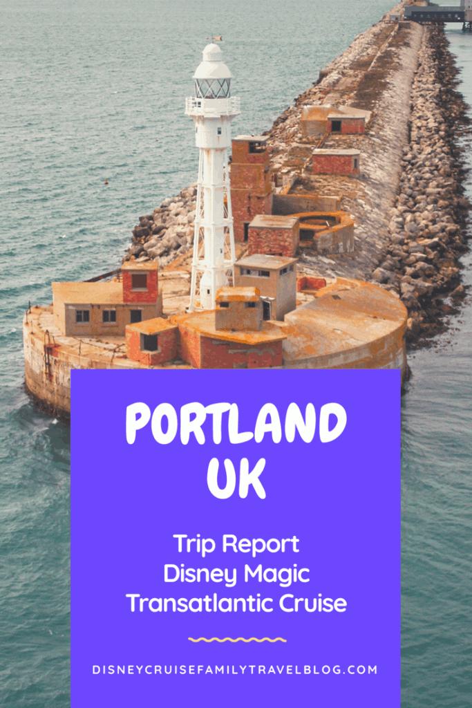 Portland UK Disney Magic Transatlantic Cruise