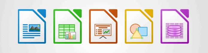 Les logiciels de la suite bureautique LibreOffice