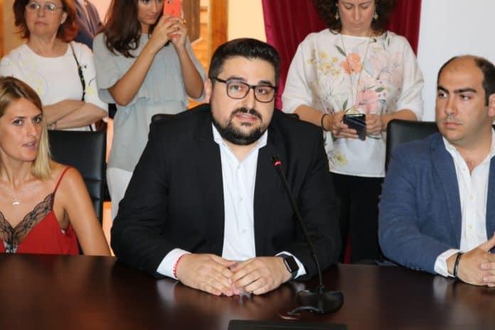 Fran Carrasco. Portavoz del PSOE en Lora del Río