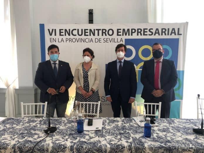 Lora del Río ha acogido el VI Encuentro Empresarial de la Provincia de Sevilla organizado por la CES