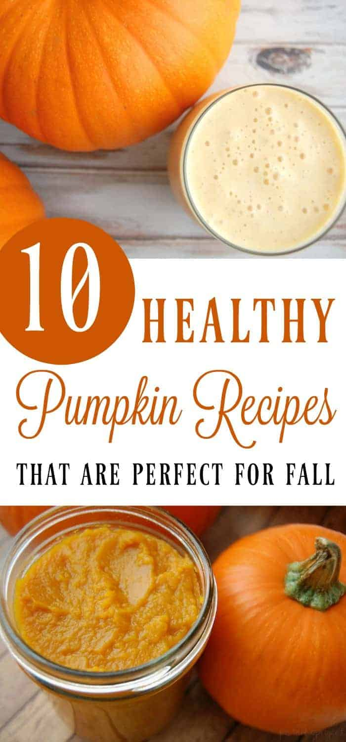 To help you along your journey of adding in pumpkin to every food you eat… here is a collection of some healthy pumpkin recipes. Sorry, no sugar laden foods here but that doesn't mean these recipes do not taste good; they do! They taste great! #pumpkin #pumpkinspice #fallfoods #fall #healthy
