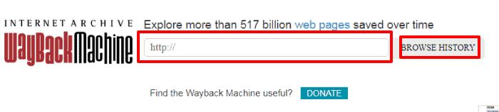recover tweets using Wayback Machine