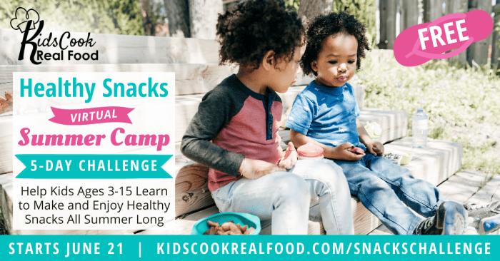 KCRF Snacks Challenge