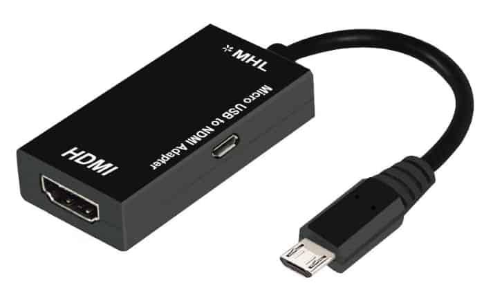 Adaptador MHL Micro USB a HDMI