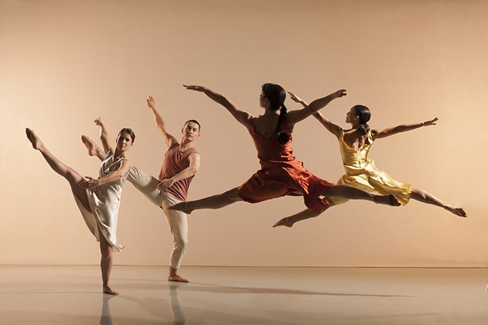 Richard Alston Dance Company Voices and Light Footsteps