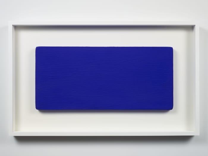 Untitled Blue Monochrome (IKB 231) by Yves Klein