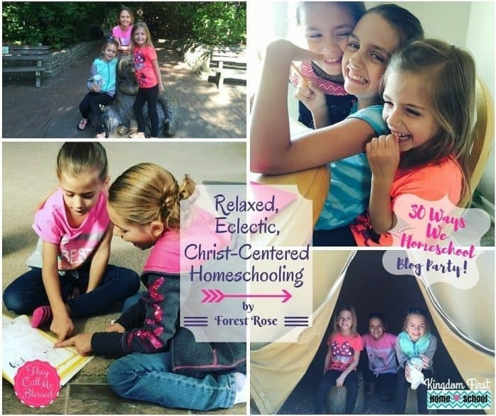 This is how we homeschool Relaxed, Eclectic Christ-Centered Homeschooling
