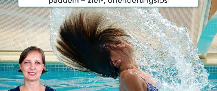 PK 12 Paddelst du noch oder schwimmst du schon