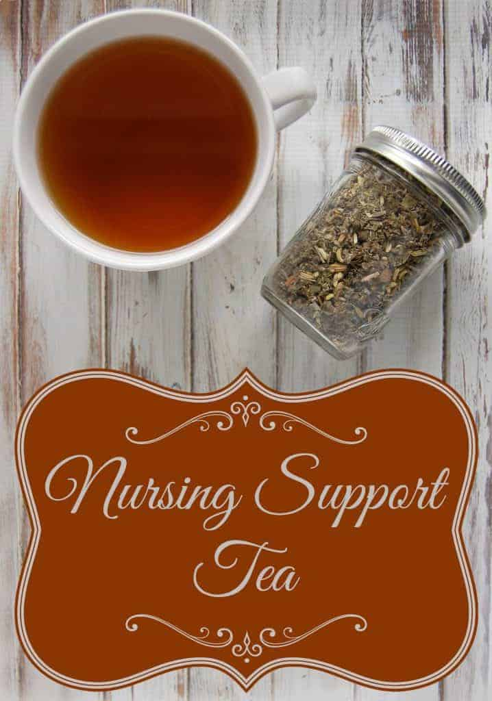 Nursing Support Tea - this tea might help some women increase their milk a lot, I like to think of this tea as more of a constant helping hand to keep milk supply where it should be. That is how I use it. I got my milk supply up using my favorite methods and then used this nursing support tea to help keep it at the proper levels. #milksupply #lowmilksupply #increasemilksupply #nursing #breastfed #breastfeeding