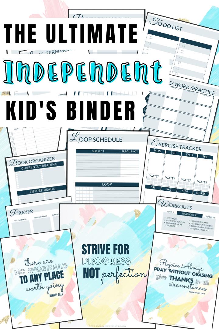 Ultimate Independent Kid's Binder