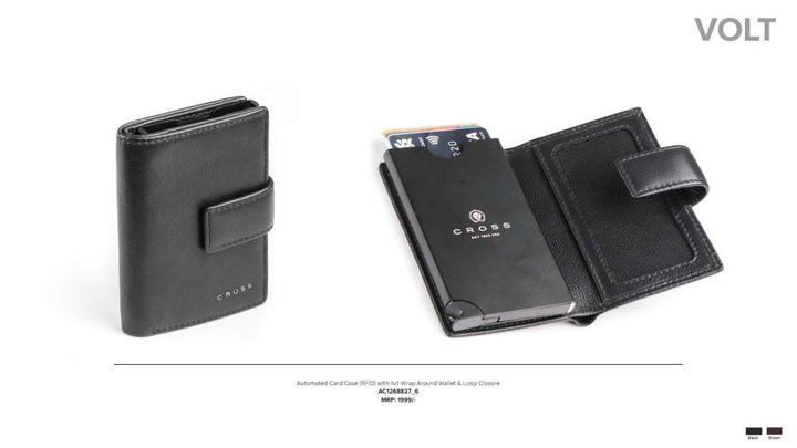 CROSS Volt Leather Card Case