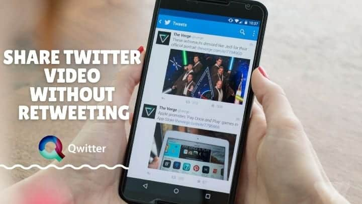 How to Embed Someone Twitter Video Without Retweeting Them