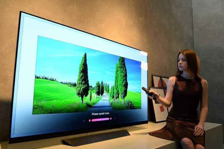 TV LG OLED CES 2018