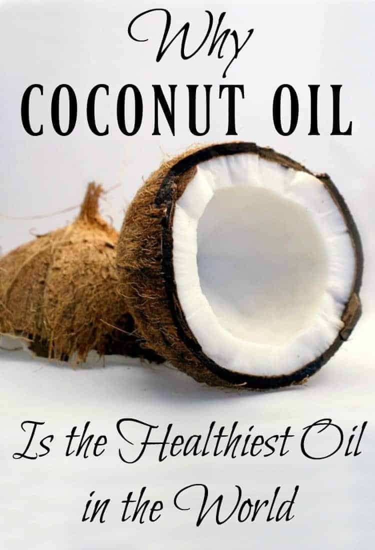 Coconut oil the one of the hottest oils on the market. Find out why coconut oil is the healthiest oil in the world and then go get some for yourself! #coconutoil #coconut #oil #healthyfats #naturalhealth