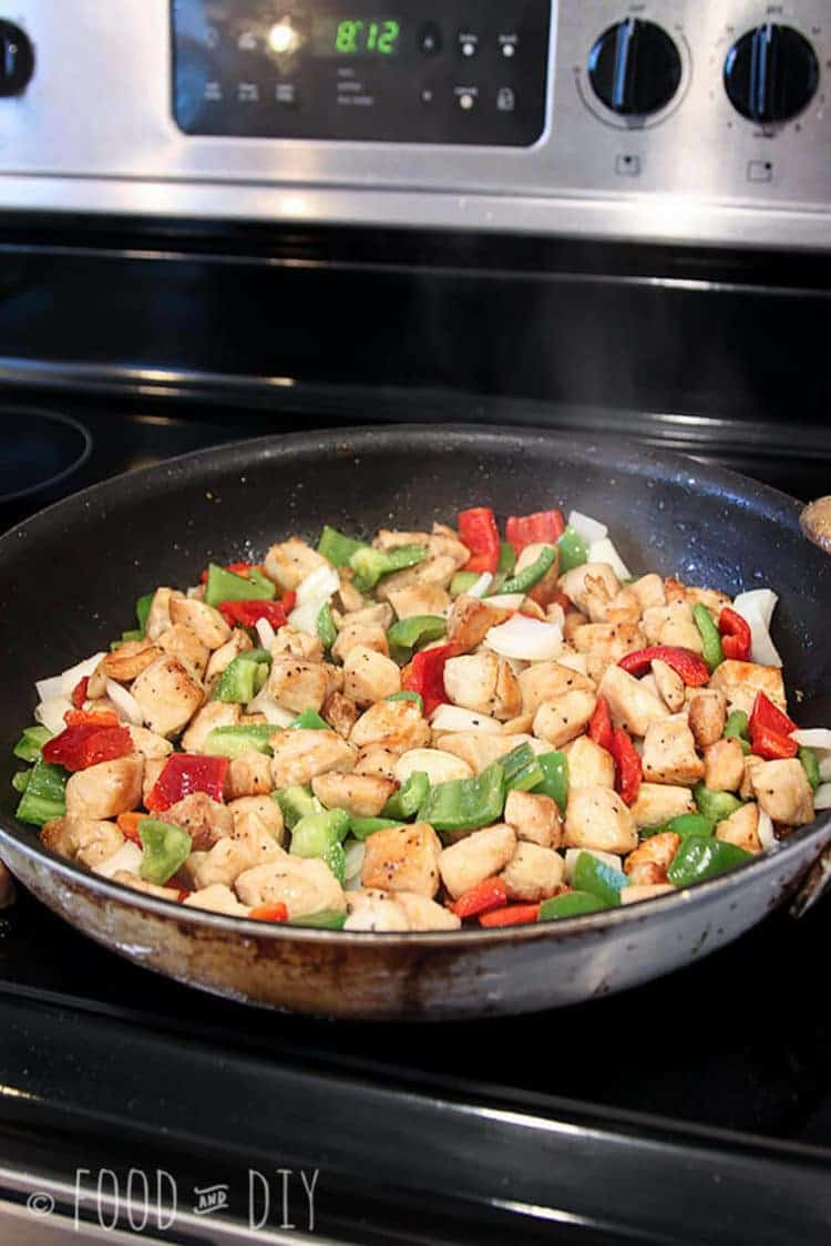 This Ginger Chicken Stir Fry is so delicious and ready in less than 30 minutes!