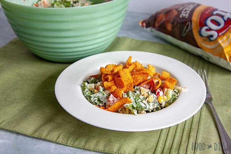 Kale Corn Chip Summer Salad