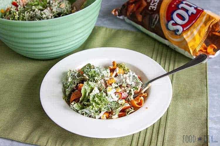 Kale Corn Chip Salad