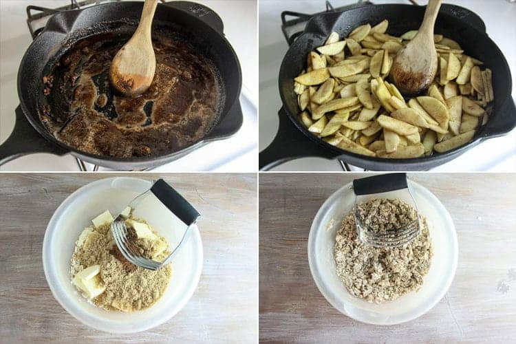 Easy, Delicious Skillet Apple Crisp