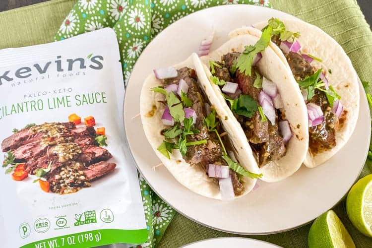 Cilantro Lime Steak Street Tacos