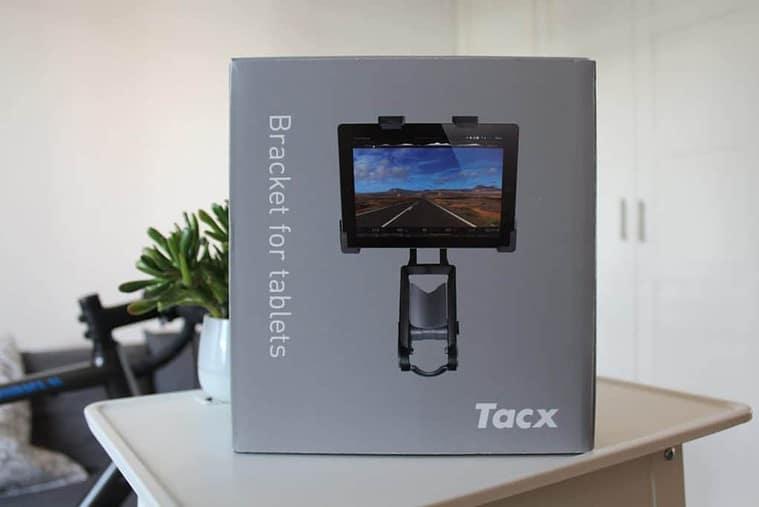 Karton der TACX Tablet Lenkerhalterung