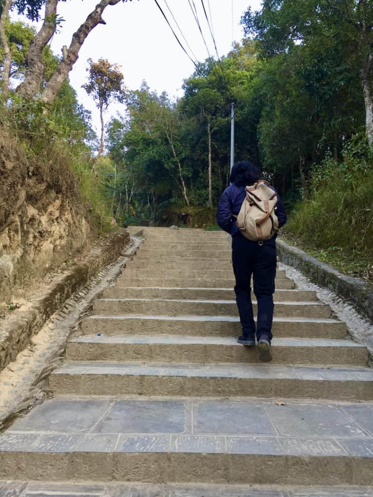 Dhulikhel Nepal Treppen